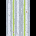 """Ткань для пэчворк (50x55см) 4500-034 из коллекции """"Little Ollie"""" """"Stof"""" (Дания)"""