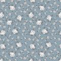 """Ткань для пэчворк (50x55см) 4500-100 из коллекции """"Bella Rosa"""" """"Stof"""" (Дания)"""