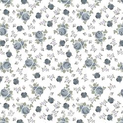 """Ткань для пэчворк (50x55см) 4500-103 из коллекции """"Bella Rosa"""" """"Stof"""" (Дания)"""