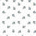 """Ткань для пэчворк (50x55см) 4500-107 из коллекции """"Bella Rosa"""" """"Stof"""" (Дания)"""