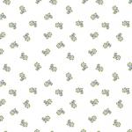 """Ткань для пэчворк (50x55см) 4500-111 из коллекции """"Bella Rosa"""" """"Stof"""" (Дания)"""