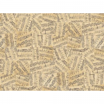 """Ткань для пэчворк (50x55см) 4500-121 из коллекции """"Piano Forte"""" """"Stof"""" (Дания)"""
