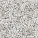"""Ткань для пэчворк (50x55см) 4500-122 из коллекции """"Piano Forte"""" """"Stof"""" (Дания)"""