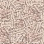 """Ткань для пэчворк (50x55см) 4500-123 из коллекции """"Piano Forte"""" """"Stof"""" (Дания)"""