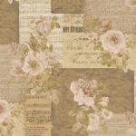 """Ткань для пэчворк (50x55см) 4500-124 из коллекции """"Piano Forte"""" """"Stof"""" (Дания)"""