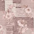 """Ткань для пэчворк (50x55см) 4500-126 из коллекции """"Piano Forte"""" """"Stof"""" (Дания)"""