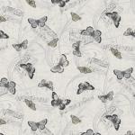 """Ткань для пэчворк (50x55см) 4500-128 из коллекции """"Piano Forte"""" """"Stof"""" (Дания)"""