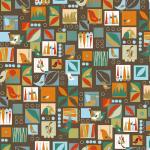 "Ткань для пэчворк (50x55см) 4500-157 ""Stof"" (Дания)"