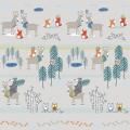 """Ткань для пэчворк (60x110см) 4500-170 из коллекции """"Woodie"""" """"Stof"""" (Дания)"""