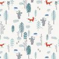 """Ткань для пэчворк (50x55см) 4500-172 из коллекции """"Woodie"""" """"Stof"""" (Дания)"""