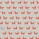 """Ткань для пэчворк (50x55см) 4500-178 из коллекции """"Woodie"""" """"Stof"""" (Дания)"""