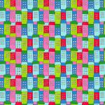 """Ткань для пэчворк (50x55см) 4500-241 из коллекции """"Down town kitty"""" """"Stof"""" (Дания)"""
