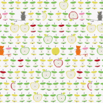 "Ткань для пэчворк (50x55см) 4500-274 из коллекции ""Daydreamers"" ""Stof"" (Дания)"
