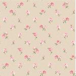 """Ткань для пэчворк (50x55см) 4500-541 из коллекции """"Vintage Roses"""" """"Stof"""" (Дания)"""