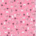 """Ткань для пэчворк (50x55см) 4500-571 из коллекции """"Hollies Flowers"""" """"Stof"""" (Дания)"""