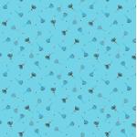 """Ткань для пэчворк (50x55см) 4500-576 из коллекции """"Hollies Flowers"""" """"Stof"""" (Дания)"""