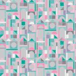 """Ткань для пэчворк (50x55см) 4500-639 из коллекции """"Rocking horses"""" """"Stof"""" (Дания)"""