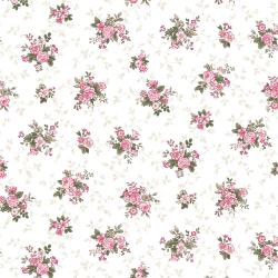 """Ткань для пэчворк (50x55см) 4500-755 из коллекции """"Juliet roses"""" """"Stof"""" (Дания)"""