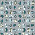 """Ткань для пэчворк (50x55см) 4500-834 из коллекции """"Hush-a-Bye Woods"""" """"Stof"""" (Дания)"""