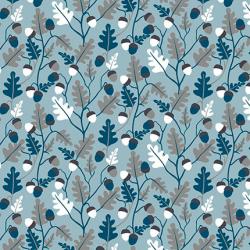 """Ткань для пэчворк (50x55см) 4500-838 из коллекции """"Hush-a-Bye Woods"""" """"Stof"""" (Дания)"""