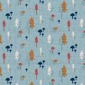 """Ткань для пэчворк (50x55см) 4500-839 из коллекции """"Hush-a-Bye Woods"""" """"Stof"""" (Дания)"""