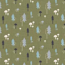 """Ткань для пэчворк (50x55см) 4500-840 из коллекции """"Hush-a-Bye Woods"""" """"Stof"""" (Дания)"""