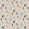"""Ткань для пэчворк (50x55см) 4500-841 из коллекции """"Hush-a-Bye Woods"""" """"Stof"""" (Дания)"""