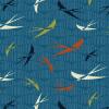 """Ткань для пэчворк (50x55см) 4503-208 из коллекции """"Silver lining"""" """"Stof"""" (Дания)"""