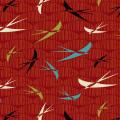 """Ткань для пэчворк (50x55см) 4503-209 из коллекции """"Silver lining"""" """"Stof"""" (Дания)"""