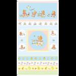 """Ткань для пэчворк (60x110см) 4503-354 из коллекции """"Bobbis picnic"""" """"Stof"""" (Дания)"""