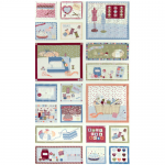 "Ткань для пэчворк (60x110см) 4505-028 ""Stof"" (Дания)"