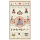 "Ткань для пэчворк (60x110см) 4505-058 из коллекции ""Sweet Princess"" ""Stof"" (Дания)"