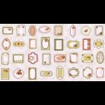 """Ткань для пэчворк (60x110см) 4505-061 из коллекции """"Rosies Summer"""" """"Stof"""" (Дания)"""