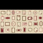 """Ткань для пэчворк (60x110см) 4505-062 из коллекции """"Rosies Summer"""" """"Stof"""" (Дания)"""