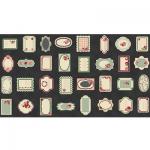"""Ткань для пэчворк (60x110см) 4505-063 из коллекции """"Rosies Summer"""" """"Stof"""" (Дания)"""