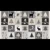 """Ткань для пэчворк (60x110см) 4505-072 из коллекции """"Winter is coming"""" """"Stof"""" (Дания)"""