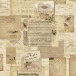 """Ткань для пэчворк (60x110см) 4505-075 из коллекции """"Piano Forte"""" """"Stof"""" (Дания)"""