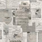 """Ткань для пэчворк (60x110см) 4505-076 из коллекции """"Piano Forte"""" """"Stof"""" (Дания)"""