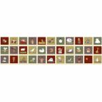 "Ткань для пэчворк (60x110см) 4505-620 ""Stof"" (Дания)"