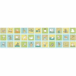 "Ткань для пэчворк (60x110см) 4505-621 ""Stof"" (Дания)"