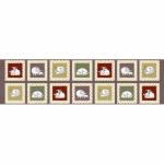 "Ткань для пэчворк (60x110см) 4505-623 ""Stof"" (Дания)"