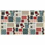 "Ткань для пэчворк (60x110см) 4505-627 ""Stof"" (Дания)"