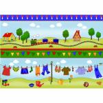 "Ткань для пэчворк (60x110см) 4507-380 ""Stof"" (Дания)"