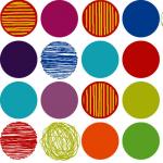 "Ткань для пэчворк (60x110см) 4507-436 ""Stof"" (Дания)"
