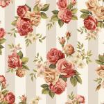"""Ткань для пэчворк (50x55см) 4507-924 из коллекции """"Rosies Summer"""" """"Stof"""" (Дания)"""