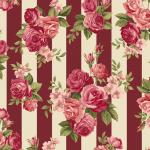 """Ткань для пэчворк (50x55см) 4507-925 из коллекции """"Rosies Summer"""" """"Stof"""" (Дания)"""