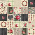 """Ткань для пэчворк (50x55см) 4507-948 из коллекции """"Rosies Summer"""" """"Stof"""" (Дания)"""