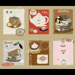 """Ткань для пэчворк (60x110см) 4507-953 из коллекции """"Five oclock tea"""" """"Stof"""" (Дания)"""