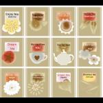 """Ткань для пэчворк (60x110см) 4507-956 из коллекции """"Five oclock tea"""" """"Stof"""" (Дания)"""