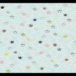 """Ткань для пэчворк (50x55см) 4507-960 из коллекции """"Five oclock tea"""" """"Stof"""" (Дания)"""